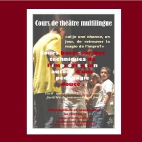 Cours de théâtre multilingue  2012/2013