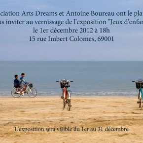 """Expostion d'Antoine Boureau  """"jeux d'enfants"""" du 1er au 31 décembre 2012"""