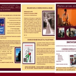programme novembre 2012 Arts Dreams