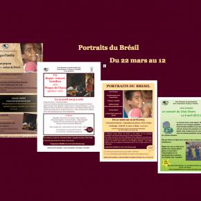 Portraits du Brésil - du 22 mars au 12 avril 2013