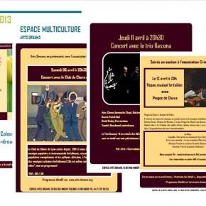 programme avril 2013
