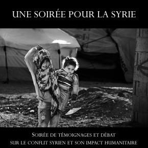 une soirée pour la syrie