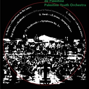 PALESTINE YOUTH ORCHESTRA - 28 AOÛT 2015