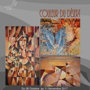vernissage de l'exposition « couleur du désert »