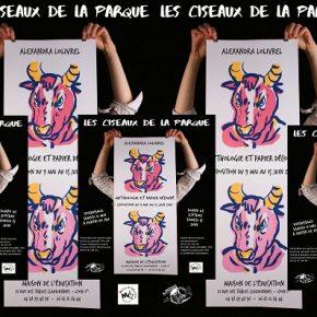 """Exposition """" les ciseaux de la parque""""  de Alexandra LOLIVREL"""